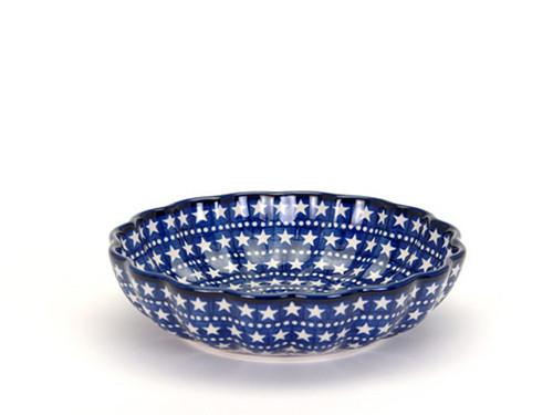 Frilled Dish (large) (Midnight Star)