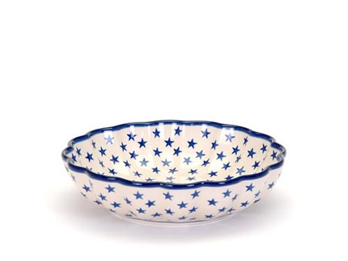 Frilled Dish (large) (Morning Star)