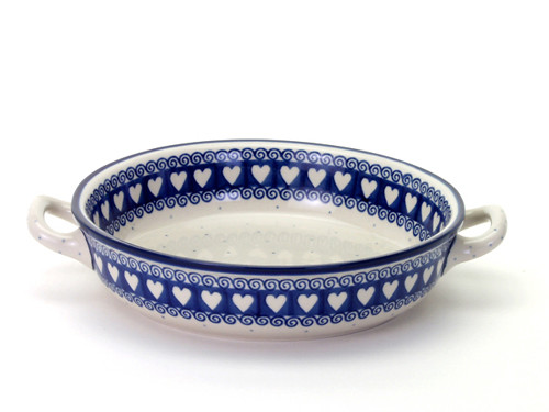 Oven Dish with Handles (large) (Light Hearted)