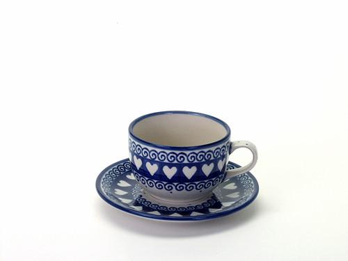 Tea Cup & Saucer (Light Hearted)