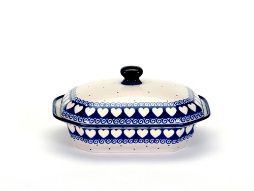 Covered Serving Dish (medium) (Light Hearted)
