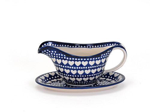 Gravy Boat with Saucer (Heart to Heart)