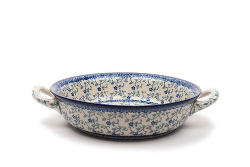 Oven Dish with Handles (small) (Forget Me Not)