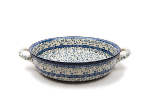 Oven Dish with Handles (large) (Forget Me Not)