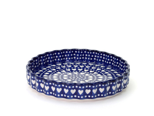 Quiche Dish (large) (Heart to Heart)