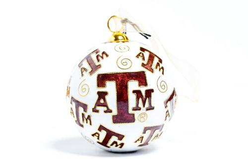 Kitty Keller Repeat Logo Christmas Ornament