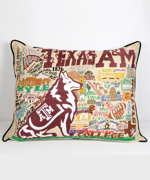 Catstudio X-Large Embroidered Pillow