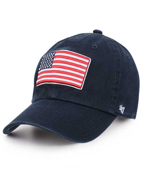'47 OHT American Flag Navy Clean Up Cap