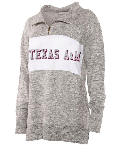 Chicka-d Women's Cozy Fleece Quarter Zip Pullover