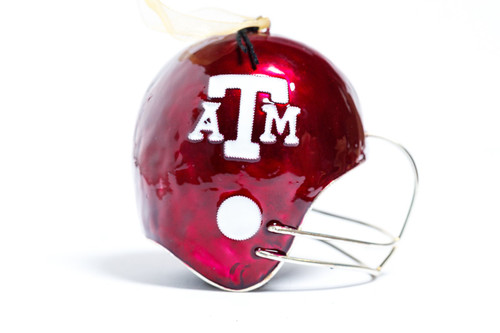 Kitty Keller Football Helmet Christmas Ornament