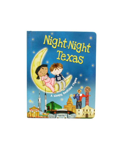 Night-Night Texas Sleepy Bedtime Rhyme Book