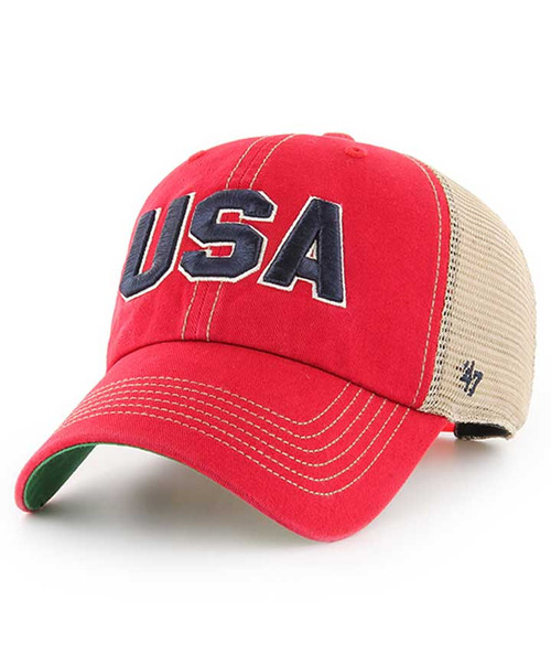 '47 Brand Operation Hat Trick USA Adjustable Clean Up Cap