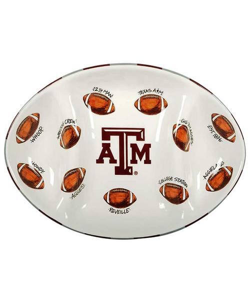 Magnolia Lane Football Platter