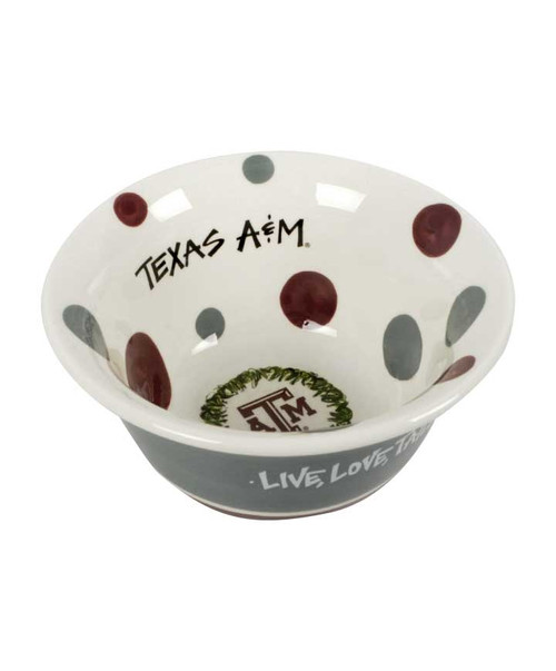 Magnolia Lane Small Love Bowl (Color Received May Vary)
