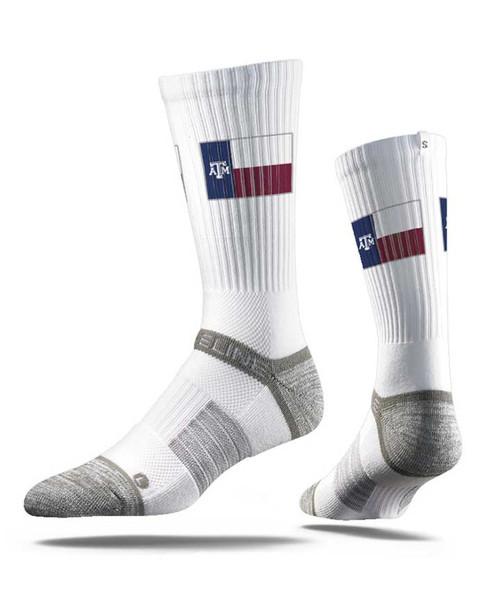 Strideline Texas Flag Crew Sock
