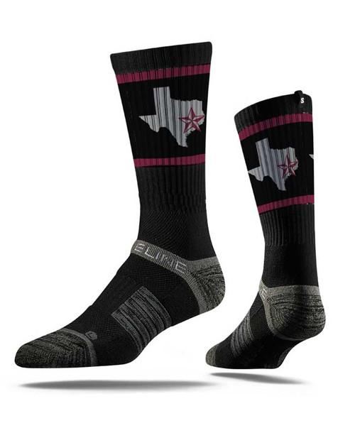 Strideline Texas Star Crew Sock