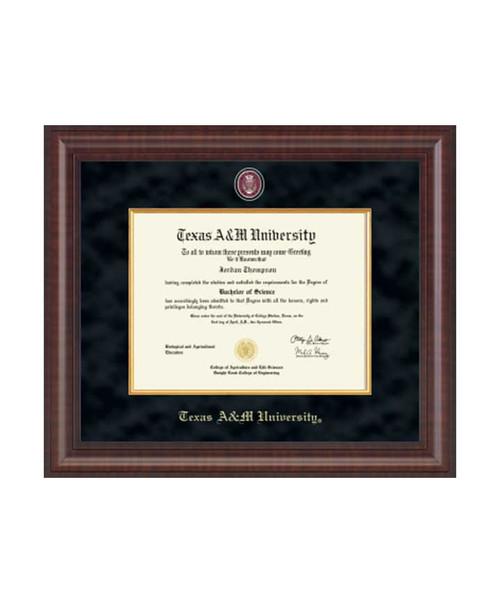Church Hill Classics Black & Gold Presidential Masterpiece Premier Diploma Frame