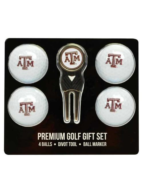 Team Golf 4 Ball Gift Set