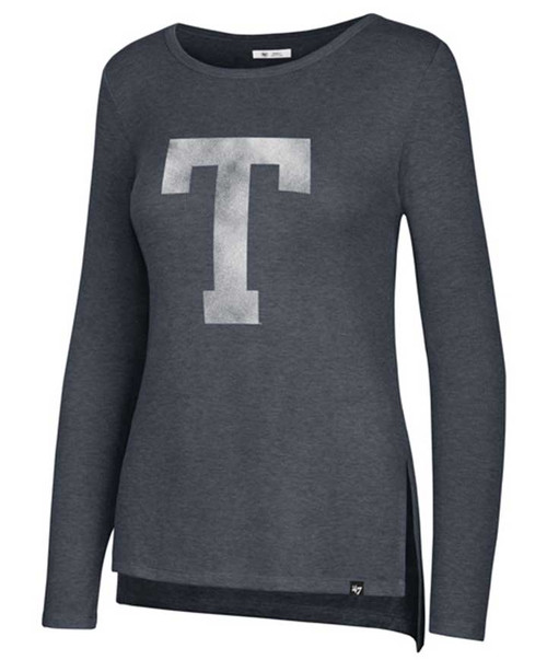 '47 Brand Women's Midnight Block T Campbell Ribbed Long Sleeve