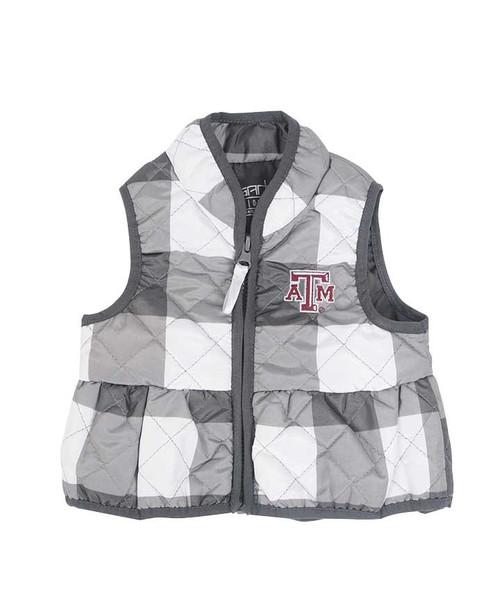 Garb Infant Wendy Quilted Gingham Vest