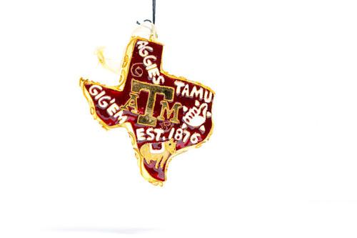 Kitty Keller Texas Traditions Christmas Ornament