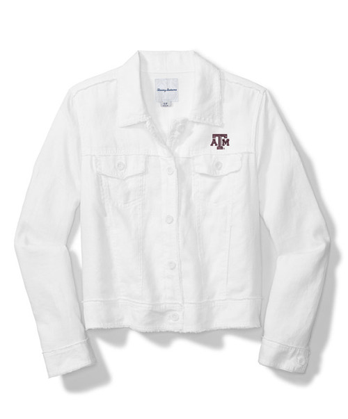 Tommy Bahama Women's Sport Two Palms Raw Edge Long Sleeve Jacket