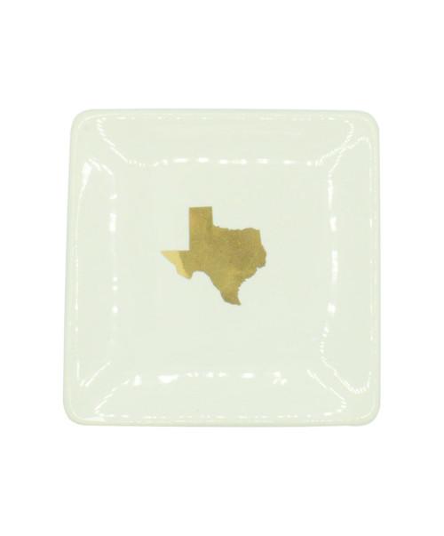 4 X 4 Texas Trinket Dish