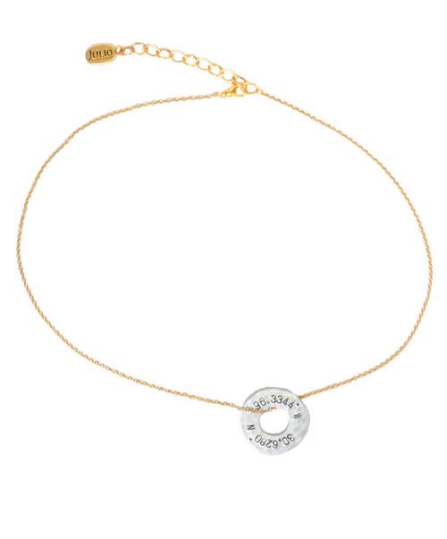 Julio Designs Women's Gold Neverland Necklace