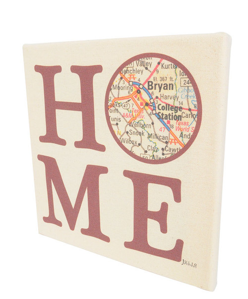 Julio Designs Home Canvas Wall Hanging