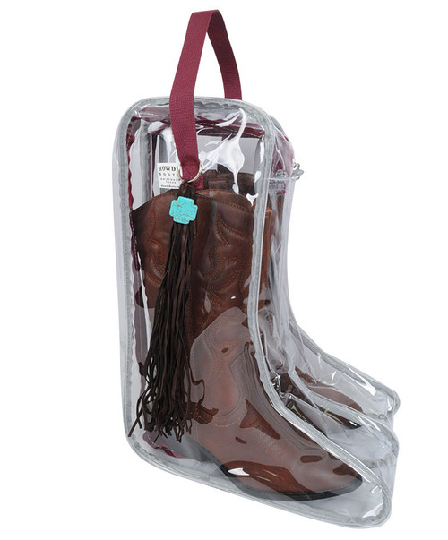Howdy Boot Bag with Tassel