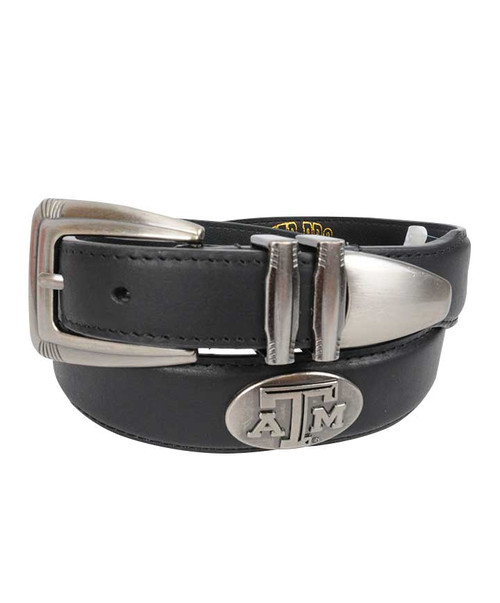 Zep-Pro Men's Leather Concho Tip Belt