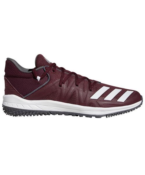 Adidas Men's Maroon Speed Turf Shoe