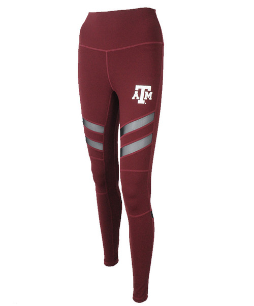 Texas A&M Aggies Kadyluxe Women's Maroon Mesh Madness Legging