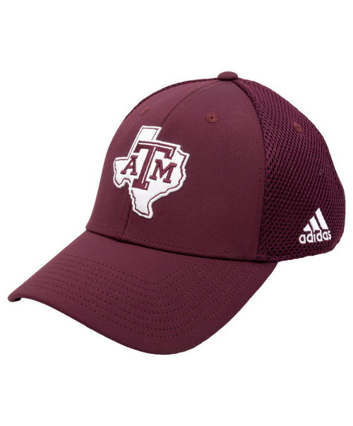 Texas A&M Aggies Adidas On-Field Men's Maroon Lonestar Adjustable Hat