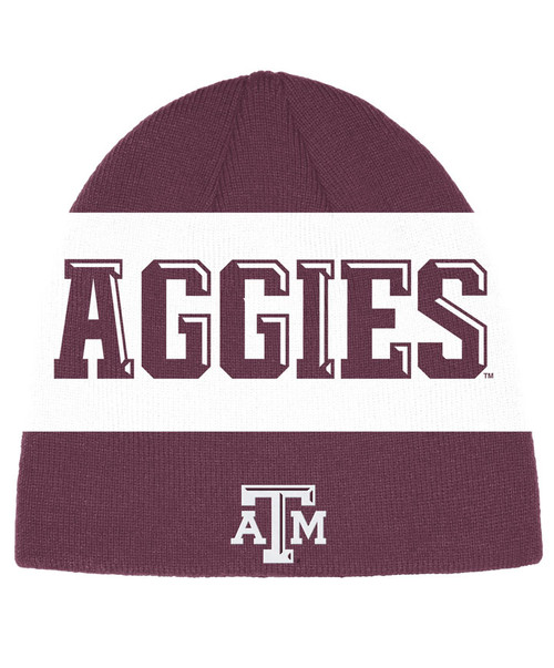 Texas A&M Aggies Adidas Men's Coach Beanie