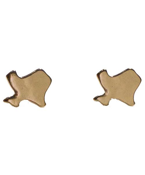 Women's Gold Texas Stud Earrings