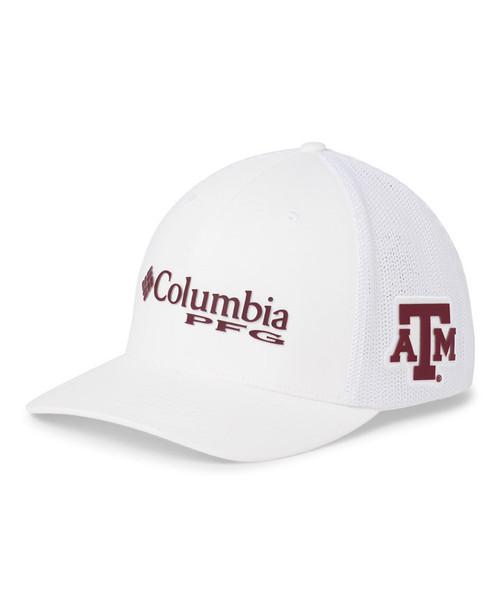 Texas A&M Aggies Columbia Men's PFG Mesh Ball Cap