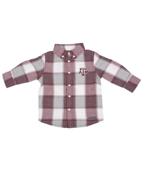 Garb Infant Boy's Cooper Long Sleeve Flannel