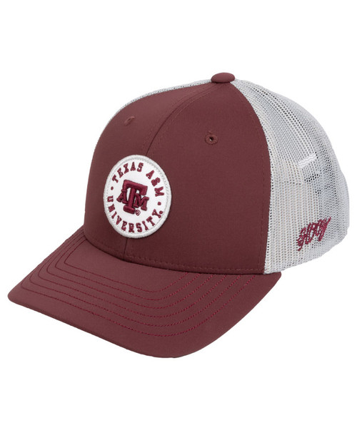Hooey Youth Maroon Patch Meshback Cap