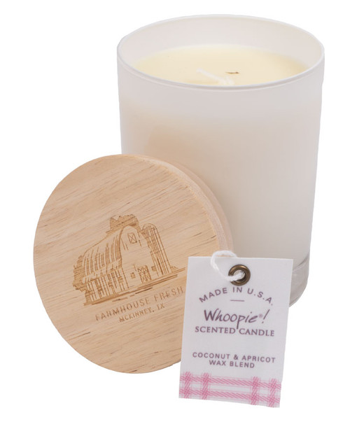 Farmhouse Fresh Whoopie 11 Ounce Candle with Wooden Lid