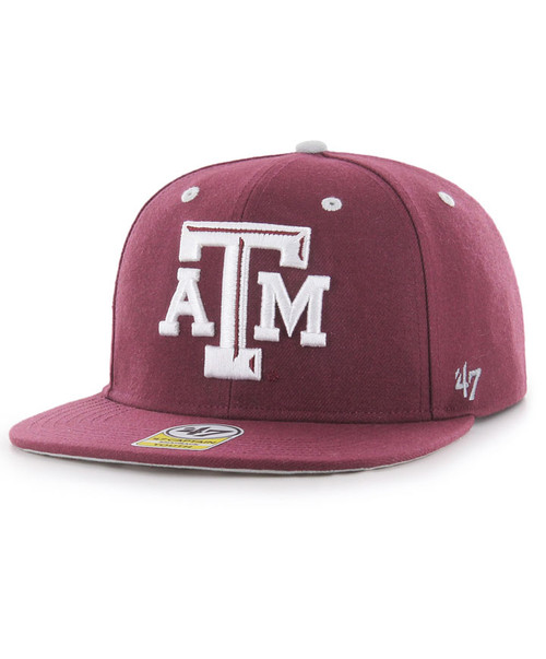 '47 Brand Youth Maroon Vow Captain Flatbill Cap