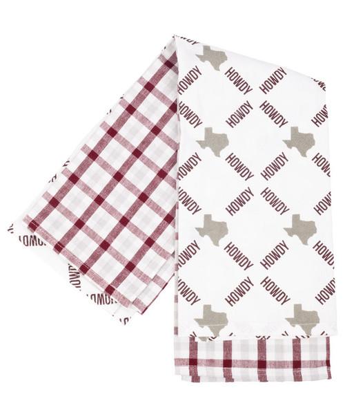 Texas Hand Towel Set