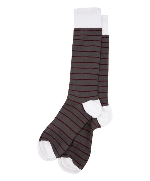 Dead Soxy Men's Large Stripe Dress Socks