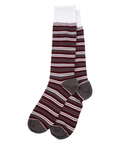 Dead Soxy Men's Multi Stripe Dress Socks