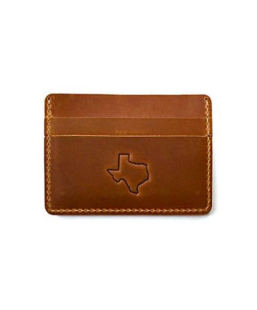 Men's Marlin Light Brown Texas Wallet