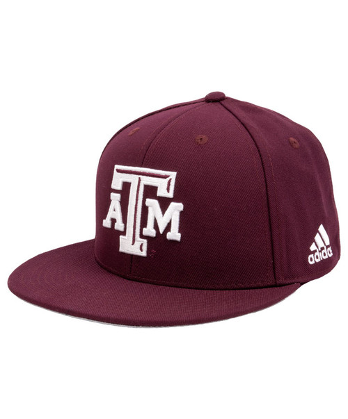 Adidas Men's Maroon On-Field Fitted Baseball Cap