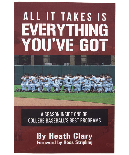 """""""All It Takes Is Everything You've Got"""" Book by Heath Clary, Class of 2019"""