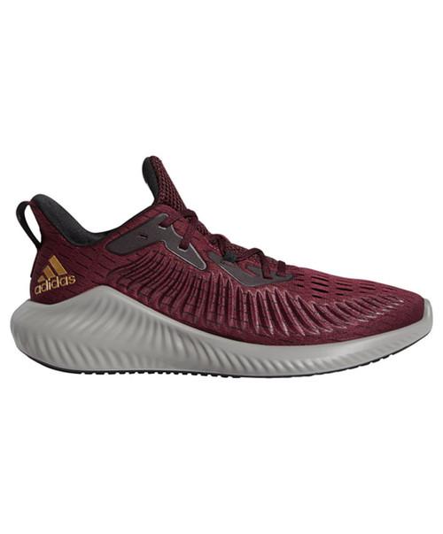 Adidas Maroon Alphabounce+ U Running Shoe
