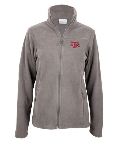 Texas A&M Aggies Columbia Women's Give and Go II Full Zip Fleece Jacket