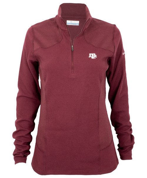 Columbia Women's Maroon Dream Ridge Half Zip Jacket